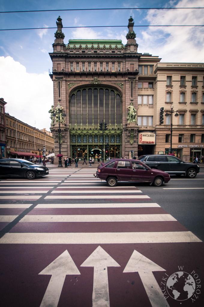 Nevsky prospekt Sankt Petersburg, Rosja