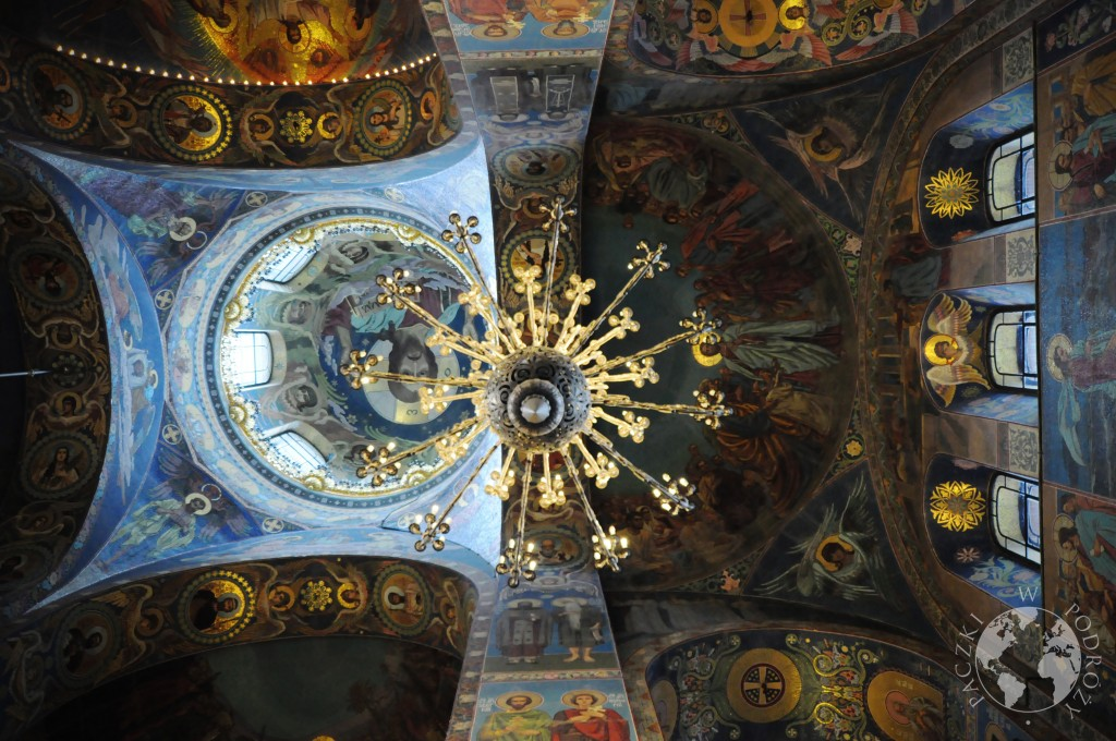 Mozaiki w cerkwi Zbawiciela na Krwi w Sankt Petersburgu, Rosja