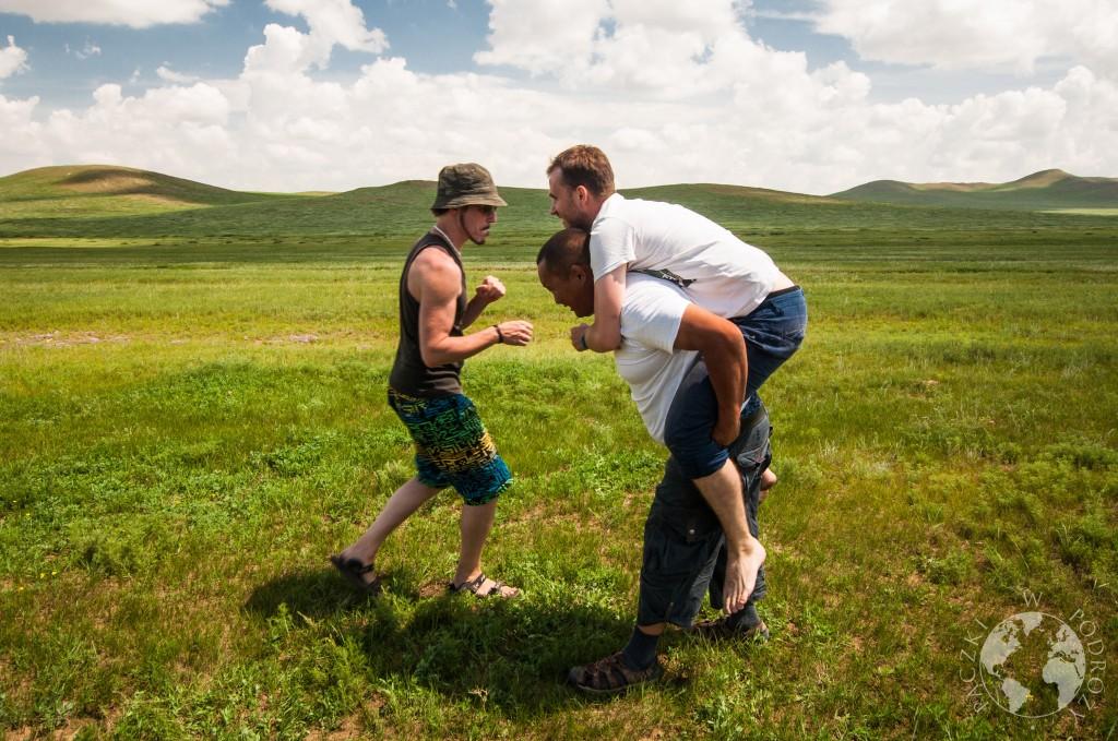 Step w Mongolii