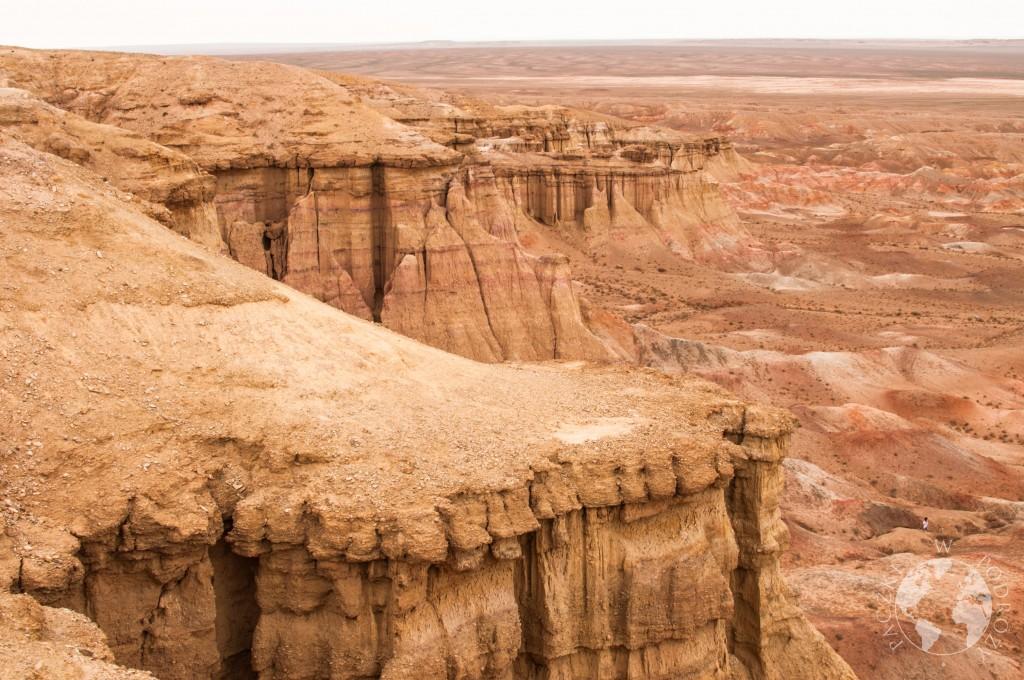 Czerwone Klify na pustyni Gobi, Mongolia