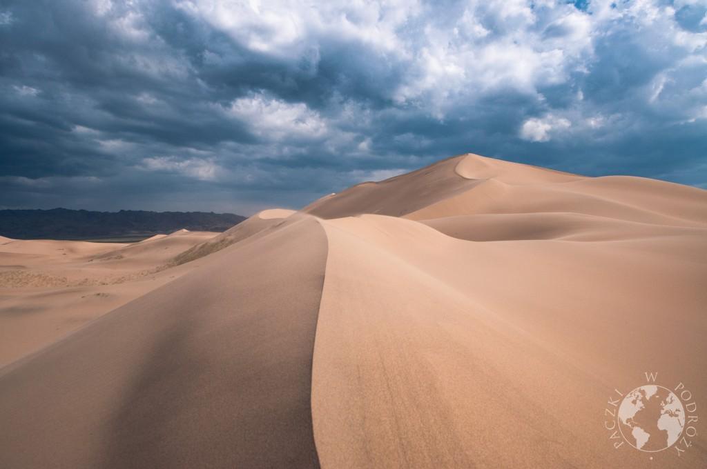 Wydmy Khongoryn Els na pustyni Gobi, Mongolia
