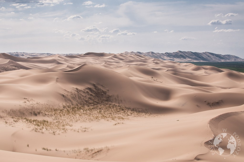 Wydmy Khongoryn Els, pustynia Gobi, Mongolia