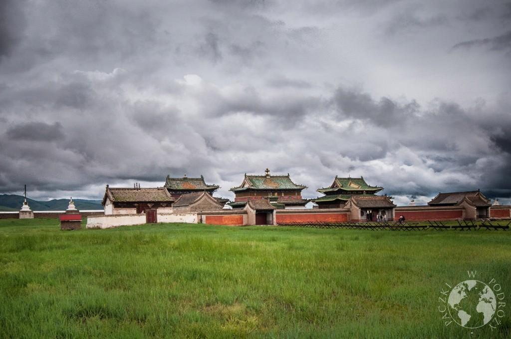 Klasztor Erdene Zuu w Karakorum, Mongolia