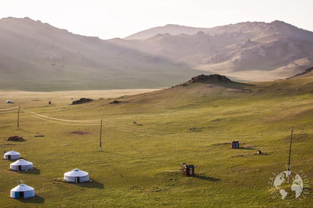 Jezioro Białe, Tsaagan Nuur w Mongolii