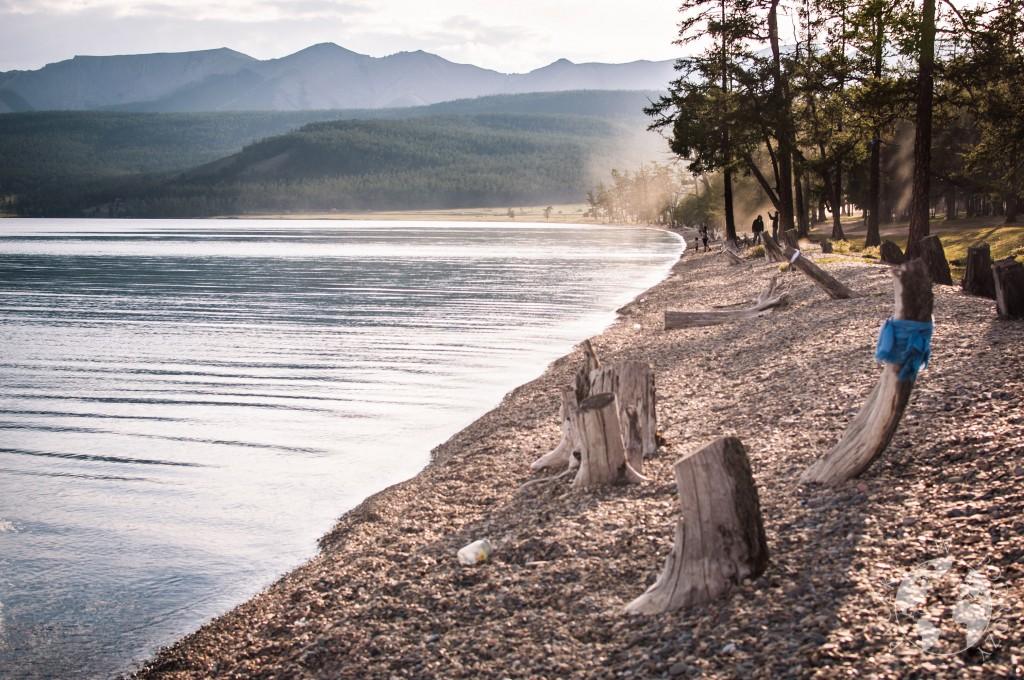 Jezioro Khovsgol, Mongolia