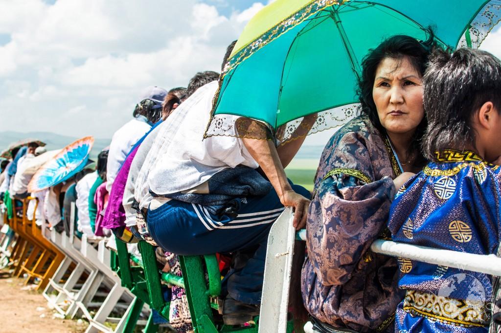 Festiwal Naadam w Ułan Bator, Mongolia - wyścigi konne