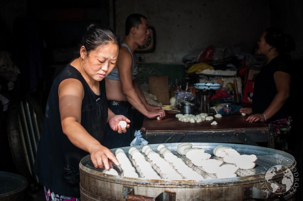 Chińskie pierogi, baozi, Chiny