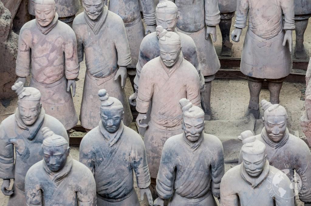 Armia Terakotowa w Xian, Chiny