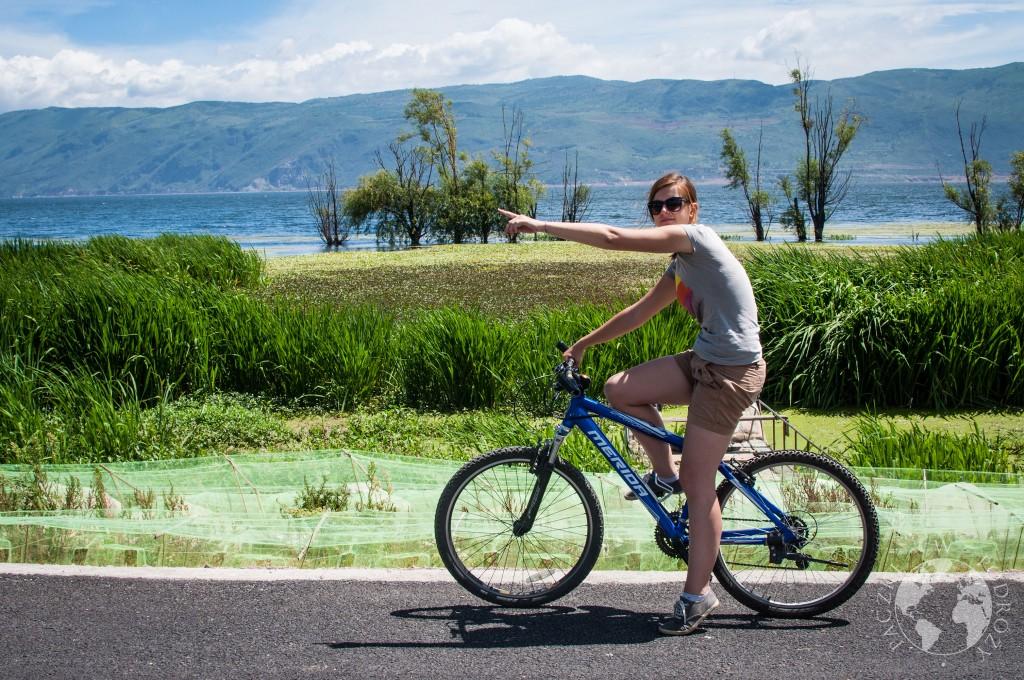 Rowerem wokół Dali, Chiny