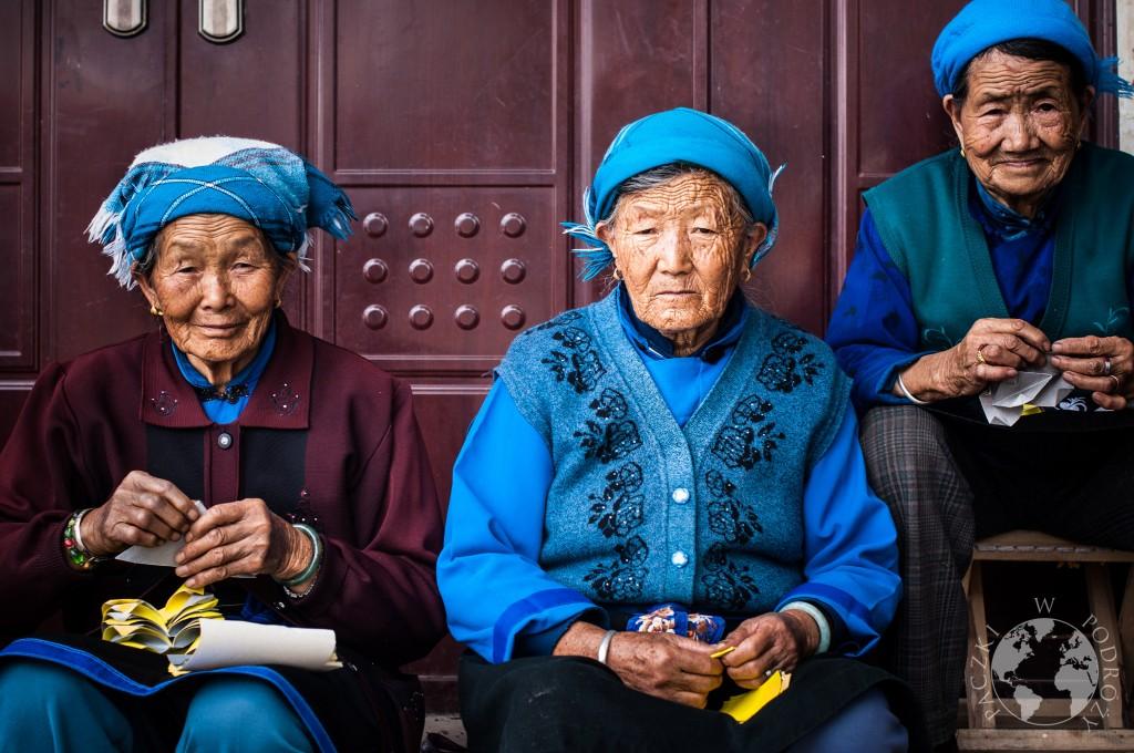 Kobiety Bai, Dali, Chiny