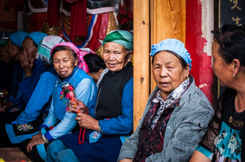 Kobiety Bai, Yunnan, Dali, Chiny
