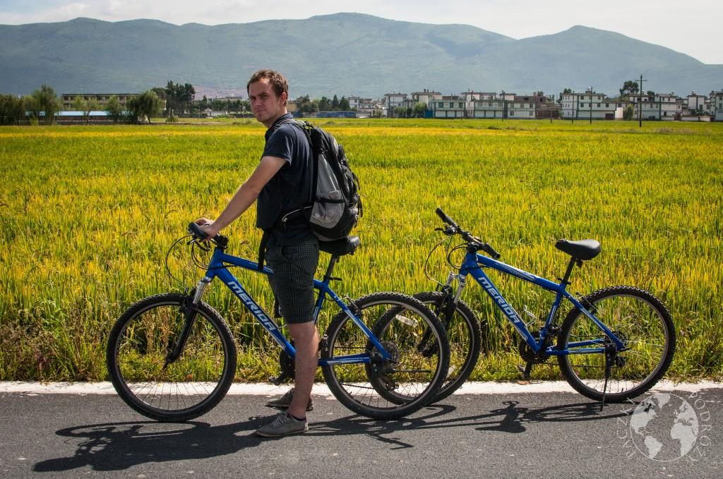 Rowerami wokół Dali, Chiny