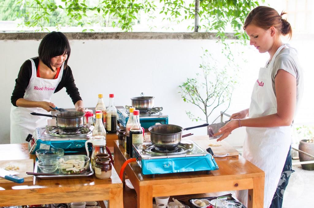 Szkoła gotowania w Dali, Chiny