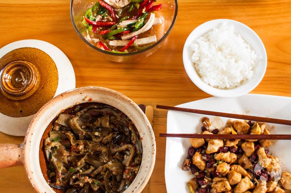 Szkoła gotowania w Dali, kurczak Gongpao, Chiny
