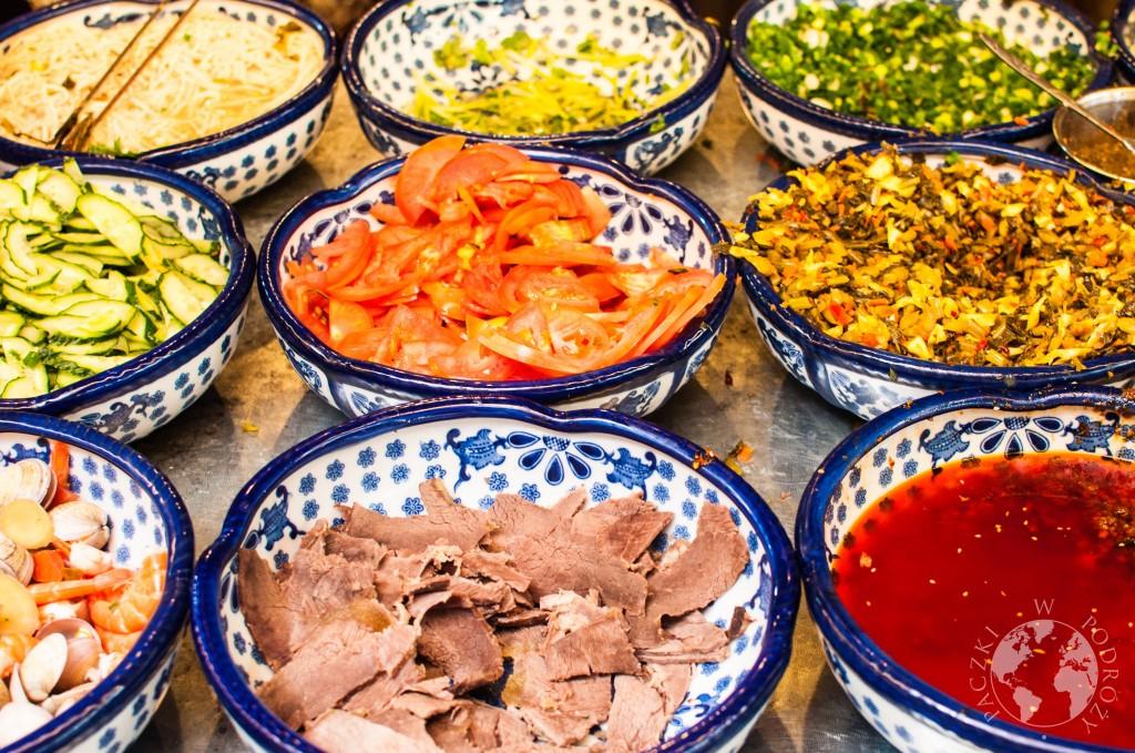 Chińska noodle soup, jedzenie w Chinach