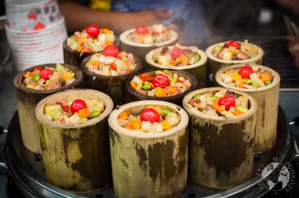 Jedzenie w Chinach, bambus