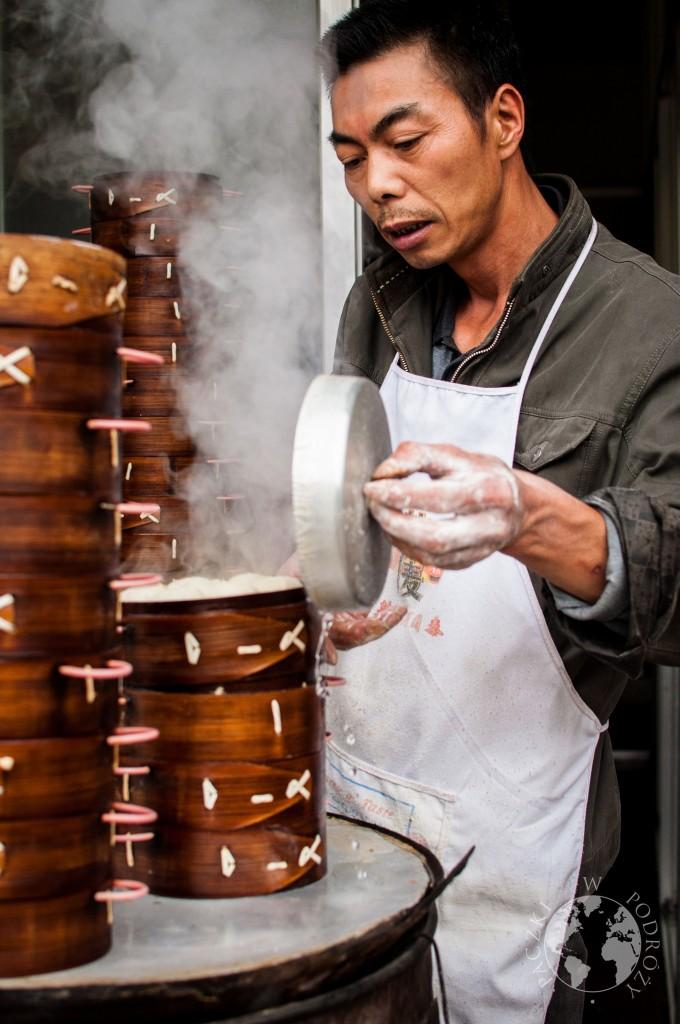 Chińskie pierożki baozi