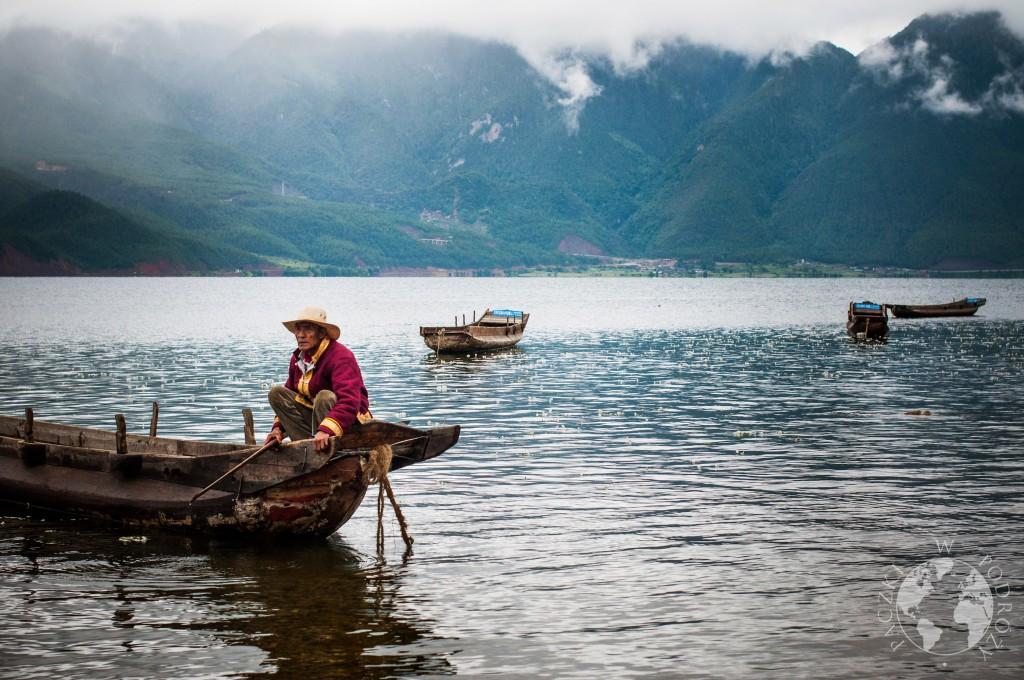 Jezioro Lugu Hu, Chiny