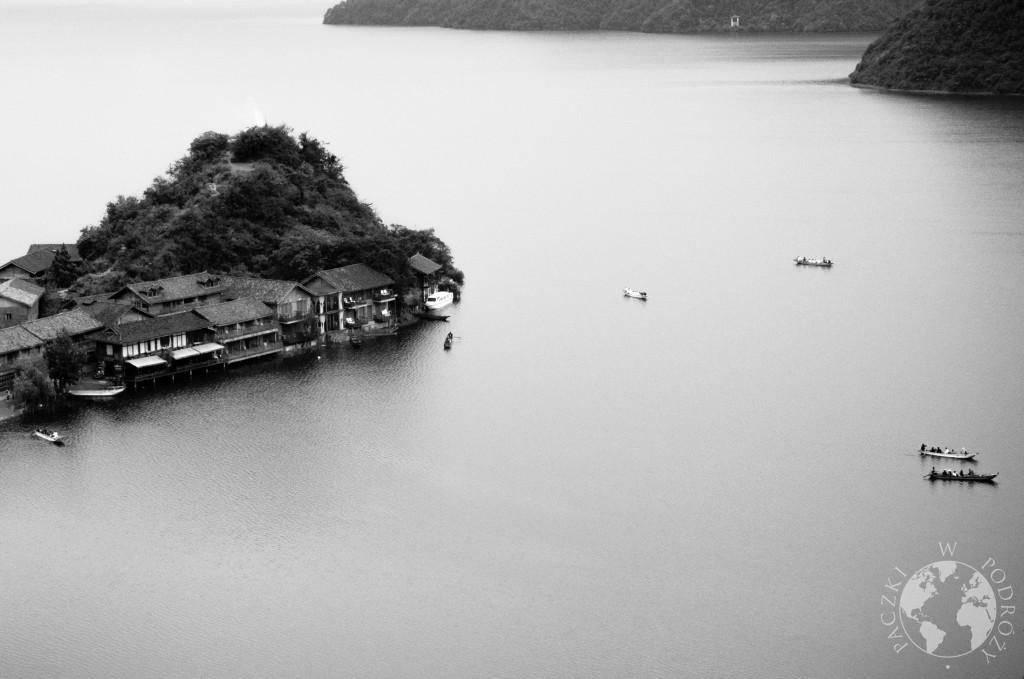 Jezioro Lugu Hu, Syczuan, Chiny