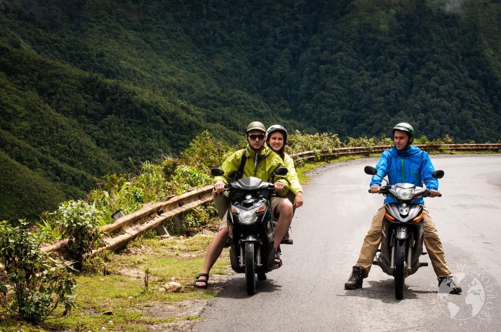 Wycieczka wynajętymi skutermi po północym Wietnamie
