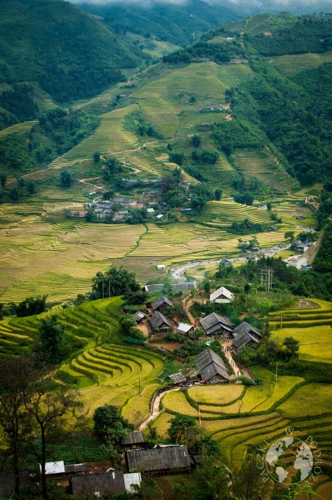 Okolice Sapa, Wietnam
