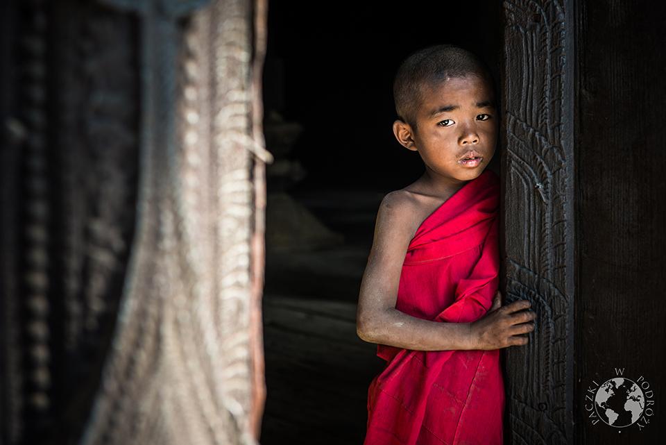Młody mnich, Mandalay, Birma