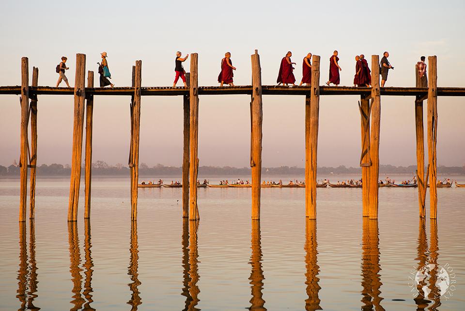 Most U Bein, Amarapura, Birma