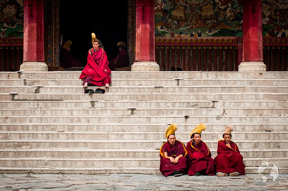 Klasztor Labrang, Xiahe, Chiny