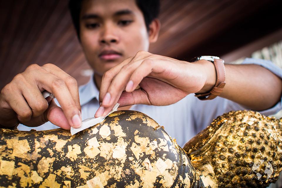 Złoty Budda, Bangkok, Tajlandia