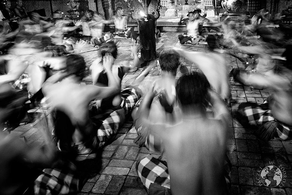 Kecak Dance, Bali, Indonezja