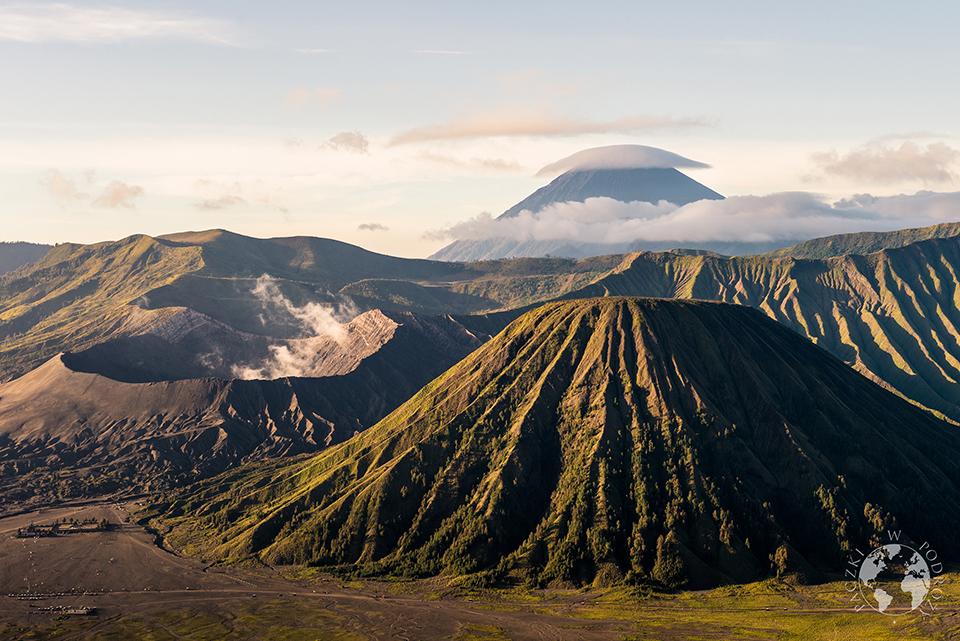 Wschód nad Bromo, Jawa, Indonezja