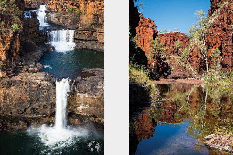 Spektakularne Parki Narodowe: Mitchell Falls i Karijini