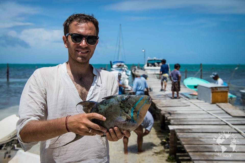 Codziennie można kupić świeżą rybkę, prosto z sieci.